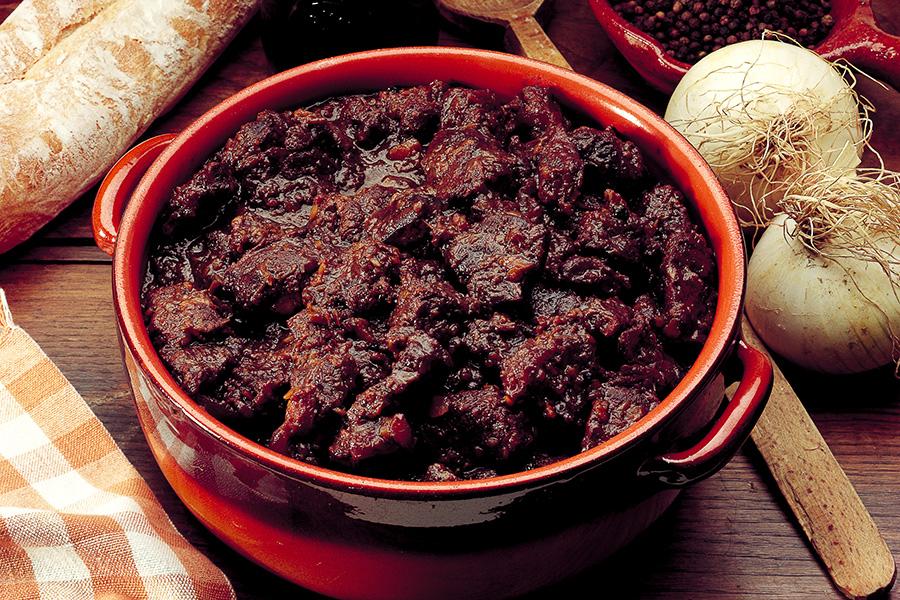 Peposo con extravergine al pepe nero
