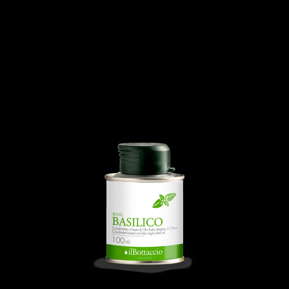 aromatisiertes Olivenöl extra vergine