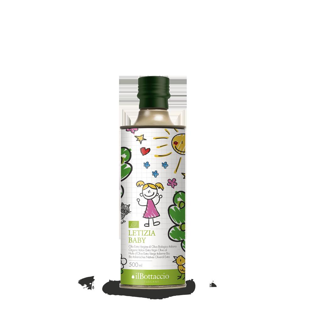 Bio natives Olivenöl extra für Kinder