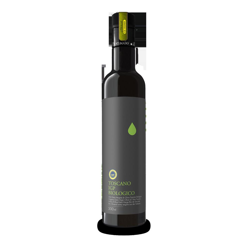 Bio toskanisches Olivenöl extra vergine IGP