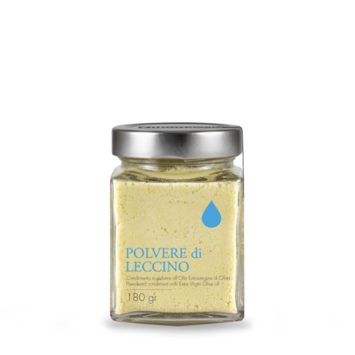 Leccino Monocultivar Olivenöl Pulver extra vergine