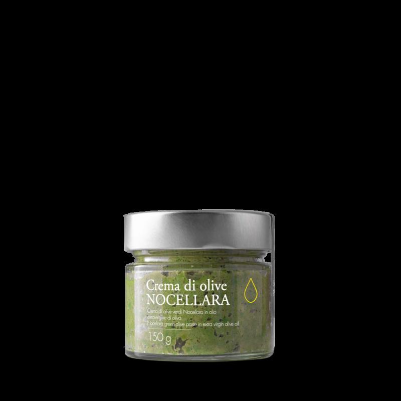 Patè di olive verdi Nocellara in olio extravergine toscano