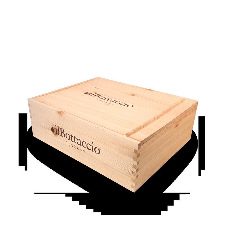 Kleine Gourmet-Geschenkbox aus Holz