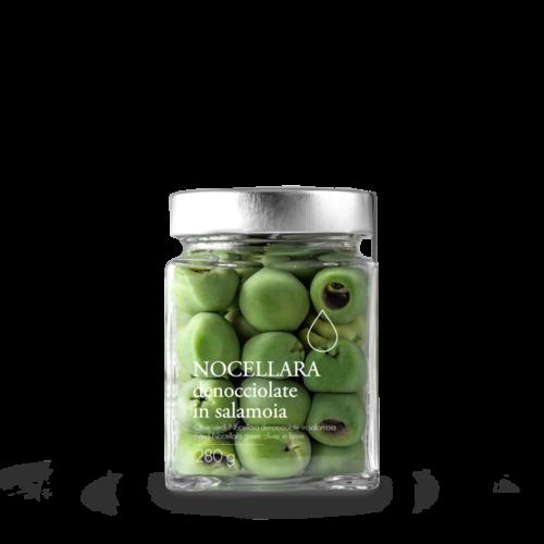 Olive Nocellara denocciolate