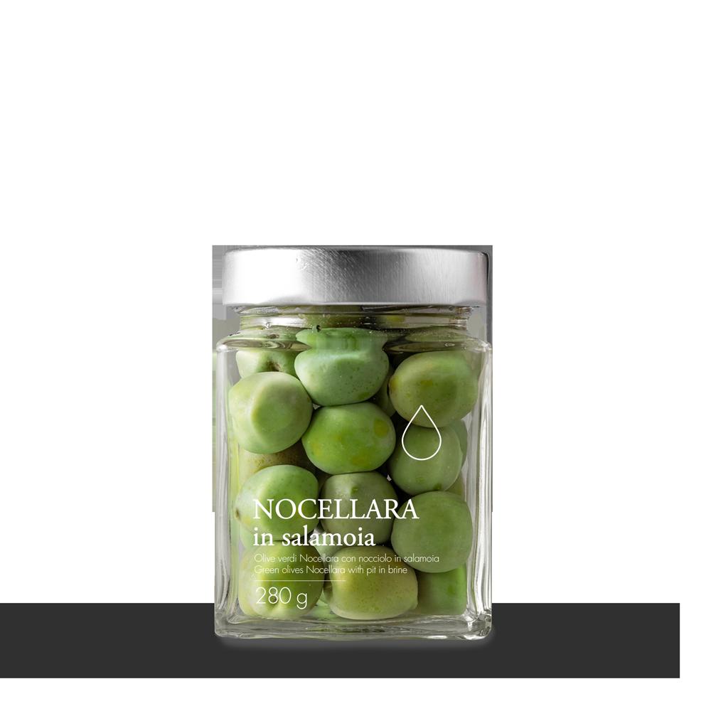 Olive in salamoia e extravergine