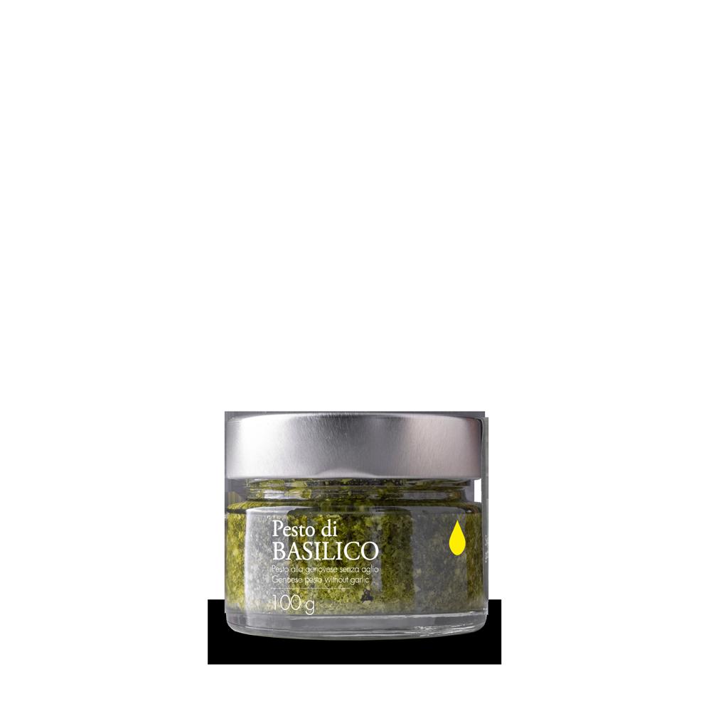 Pesto mit nativem Olivenöl extra